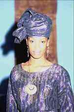 749029 Model Wearing Nigerian Outfit A4 Photo Print