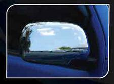 CHROME LEFT+RIGHT MIRROR COVER TRIM FOR FOR TOYOTA HILUX VIGO 2005-2012