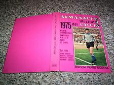 ALMANACCO ILLUSTRATO DEL CALCIO 1975 PANINI PERFETTO