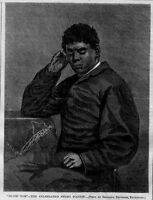NEGRO SLAVE PIANIST BLIND TOM WIGGINS MUSICAL PRODIGY AUTISTIC SAVANT PIANIST