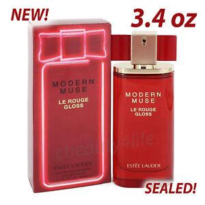Estee Lauder Modern Muse Le Rouge Gloss 3.4 oz. Eau de Parfum - SEALED! NEW!