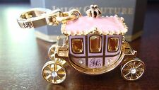 JUICY COUTURE PINK PRINCESS CARRIAGE CHARM FOR BRACELET/NECKLACE