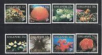 Singapore 674-81 - 1994 Marine Life Set - Mint/NH