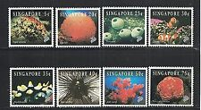 Singapore 674-81 - 1994 Colorful Marine Life Set - Mint/NH