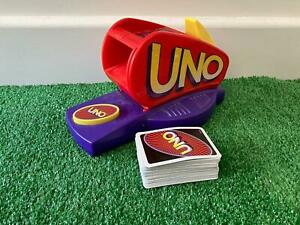 Mattel Uno Extreme 1998 Card Game With Electronic Launcher