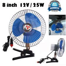12V Portable Vehicle Auto Car Fan Oscillating Car Fan Auto Cooling Fan  #Cu3