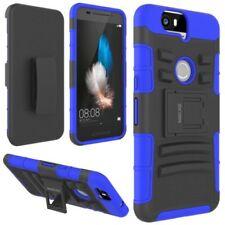 Étuis, housses et coques bleu en plastique rigide pour téléphone mobile et assistant personnel (PDA) Huawei