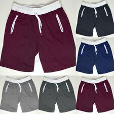 Hombres informal holgados Sport Chándal Pantalones Cortos Gimnasio activo de Gimnasia Correr Pantalones de Estados Unidos