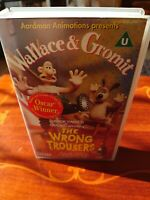 Wallace And Gromit - The Wrong Trousers (VHS, 1994)