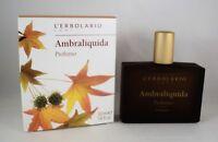 L'ERBOLARIO Profumo AMBRALIQUIDA 50ml donna uomo ambra vaniglia