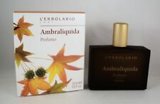 L'Erbolario Perfume Ambraliquida 50ml Woman Man Amber Vanilla