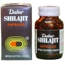 Dabur Shilajit Shilajeet HERBAL EDH 100 Caps for Multipurpose Benefits