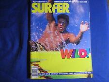 SURFER MAGAZINE-SEPT 1987-AUSSIE GRAND SLAM-RONNIE BURNS-ASP TOP 30-BUTT-VINTAGE