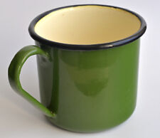 Soviet Enamel Mug Unused Home Travel Hiking Camping Tea Drinking Cup