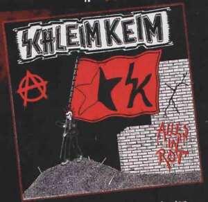 Schleim Keim – ALLES IN ROT 7 / Saukerle DDR Kult Punk