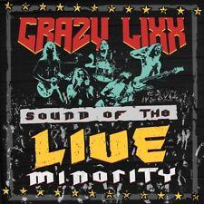 CRAZY LIXX - SOUND OF THE LIVE MINORITY   CD NEUF