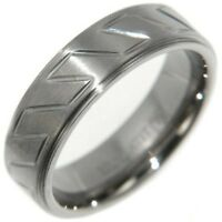 7MM TITANIUM COMFORT FIT RING BAND SIZE #8,9,10,11,12,