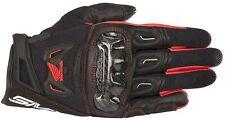 Guanti Honda Alpinestars Smx-2 air carbon v2 glove Nero rosso