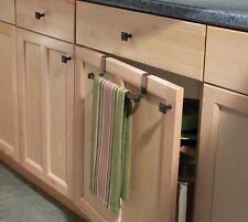 "Interdesign Over The Cabinet Towel Bar Cabinet Bronze 9"" L"