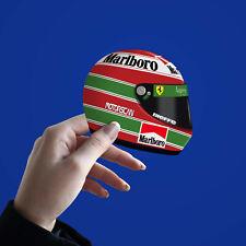More details for eddie irvine ferrari f310 1996 f1 helmet sticker - scuderia gp
