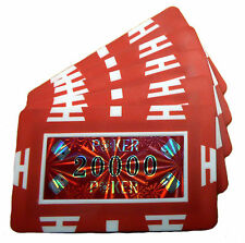 Poker Chip Plaques - 20000 Value