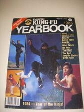 INSIDE KUNG-FU Magazine, MARCH 1985, 1984 - YEAR OF THE NINJA, SHO KOSUGI Cover!