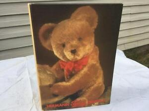 "HERMANN Teddy Original 5"" Limited Edition Germany Dk Brown Mohair Bear w BOX"