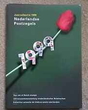 Officiele PTT jaarcollectie Ned postzegels 1999