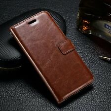 Luxury PU Leather Flip Wallet Cover Stand Case For Motorola Moto G4 play/G4 Plus