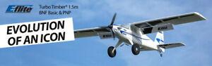 E-Flite EFlite Turbo Timber 1.5m RC Airplane w/ Floats PNP Plug In Play EFL15275