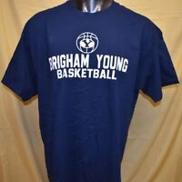 OVB Brand Mens NCAA BYU Cougars Basketball Shirt NWT M, L, XL, 2XL
