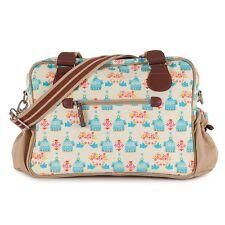 New Pink Lining Nappy Baby Bag Plain Jane Birdcage Free express Shippi