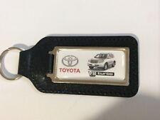 Toyota Land Cruiser V8 Turbo Keyring silver car picture