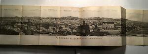 1890 ITALIE CENTRALE VOYAGE 10CARTES 31 PLANS PANORA ARCHITECTURE GUIDE BAEDEKER