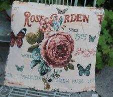 CLAYRE & EEF, Kissenhülle, Kissen * ROSE GARDEN* , Romantik,Nostalgie,45 x 45 cm