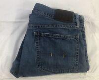 Polo Ralph Lauren Mens 35/30 Classic 867 Jeans Straight Leg Medium Wash 41381