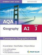 AQA A2 Geography Student Unit Guide New Edition: Unit 3 Contemporary Geographical Issues by David Redfern, Malcolm Skinner, Amanda Barker (Paperback, 2012)