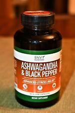 New, sealed, Ashwagandha & Black pepper, 90 veggie capsules (item 20)