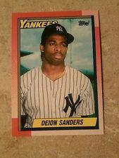 1990 TOPPS DEION SANDERS