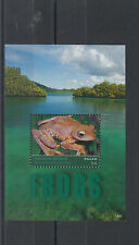 Palau 2014 MNH Frogs 1v S/S Amphibians Harlequin Tree Frog Fauna