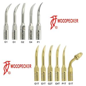 Woodpecker Dental Ultrasonic Scaler Tips Kit G1 G2 G4 P1 / G1T G2T G4T P1T E1T