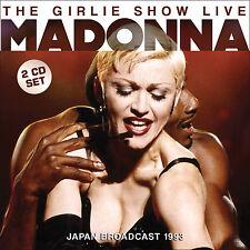 MADONNA New Sealed 2017 UNRELEASED LIVE 1993 JAPAN CONCERT 2 CD SET