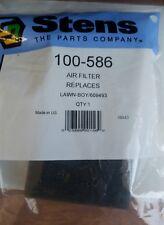 Air Filter Lawn-Boy F series Engines Lesco Stens 100-586 Lawn Boy 609493