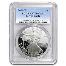 2001-W Proof Silver American Eagle PR-70 PCGS - SKU #23670