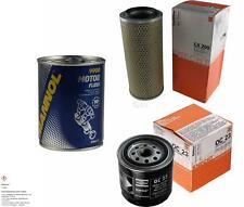MAHLE / KNECHT Inspektionspaket Filter Set SCT Motor Flush Motorspülung 11600341