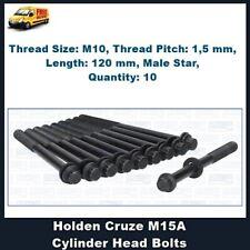 Cylinder Head Bolts Holden Cruze M15A Engine YG 2002-2006