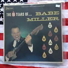 """Babe Miller - The 10 Tears Of - Rockabilly 12"""""""