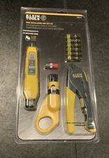 New listing New Klein Coax Cable Tester and Installation Kit Tools Vdv002-818 Sealed Package