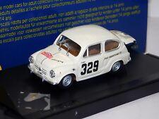 FIAT ABARTH 850 TC #329 RALLY MONTE CARLO 1964 PROGETTO PK 126 1:43