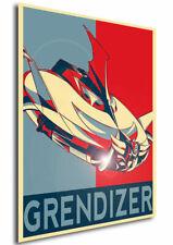 Poster Propaganda - ROBOT - UFO Robo Grendizer - Goldrake Variant 01